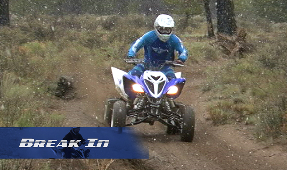 Yamaha Raptor 700R Engine Break In