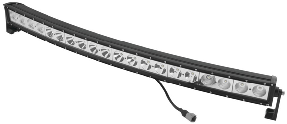 QuadBoss Curved LED Light Bar
