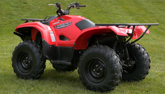 Yamaha explains difference between grizzly and kodiak for Yamaha kodiak 700 top speed