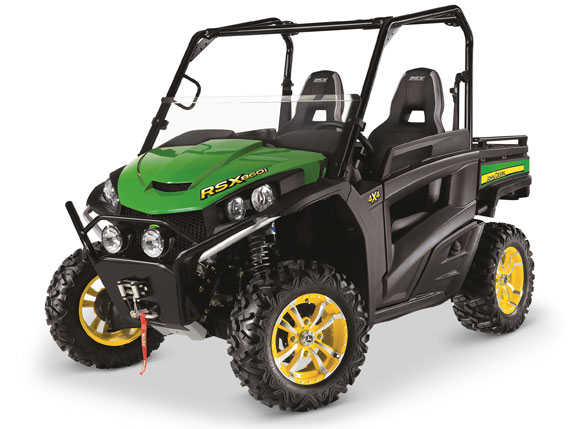 2016 John Deere Gator RSX860i Green and Yellow