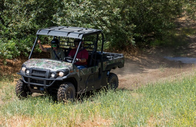 2016 Kawasaki Mule Pro-FX Action Left