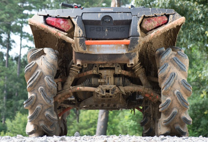 2016 Polaris Sportsman XP 1000 Stealth Black High Lifter Edition Ground Clearance