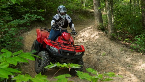 2016 Suzuki KingQuad 750 AXi PS Review