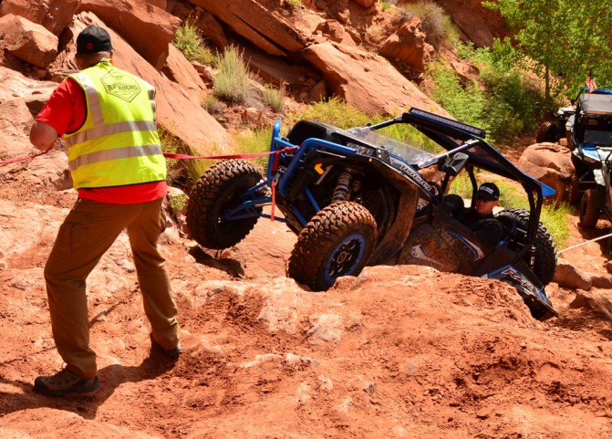Rock Crawling Spotter Ropes
