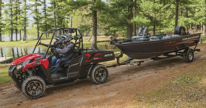 2016 Arctic Cat Prowler HDX-500 XT Towing