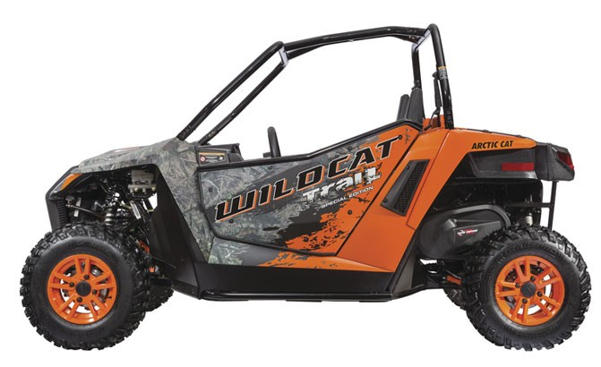 2016 Arctic Cat Wildcat Trail SE