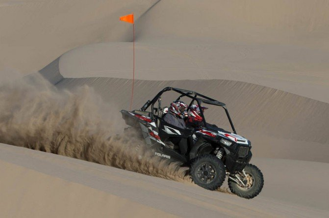 2016 Polaris RZR Turbo EPS Action Dunes