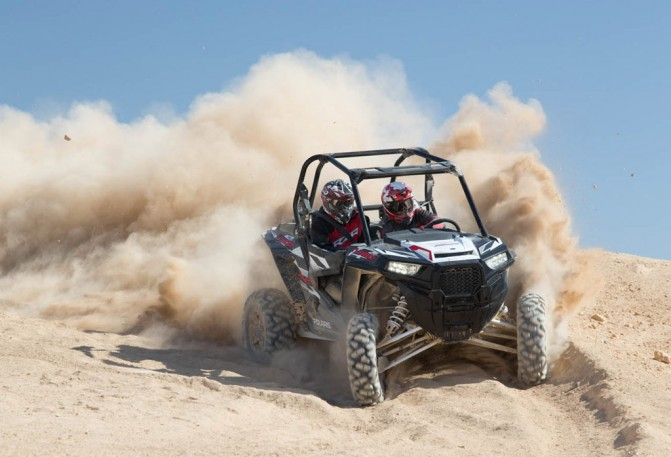 2016 Polaris RZR Turbo EPS Action Front
