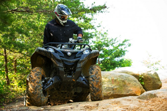 2016 Yamaha Grizzly Action Front