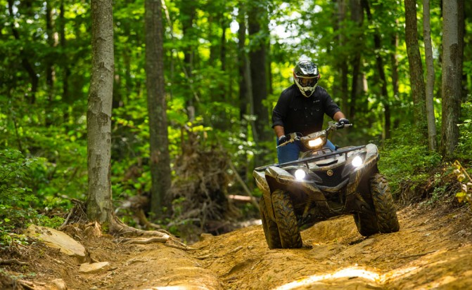 2016 Yamaha Grizzly Action