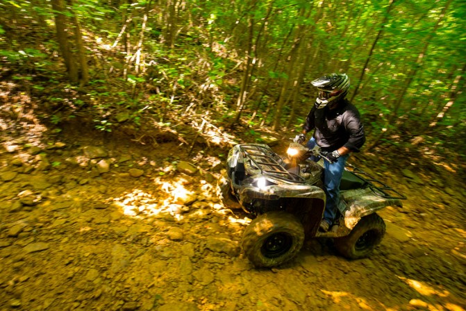 2016 Yamaha Grizzly Action Climb