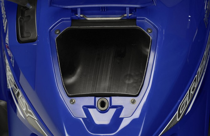 2016 Yamaha Grizzly Front Storage