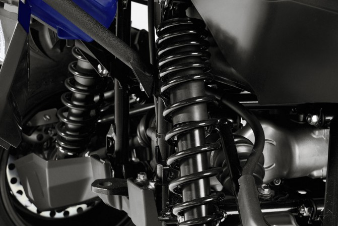2016 Yamaha Grizzly Suspension