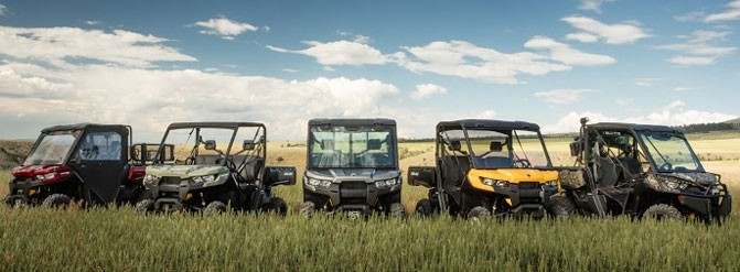 2016 Can-Am Defender Family