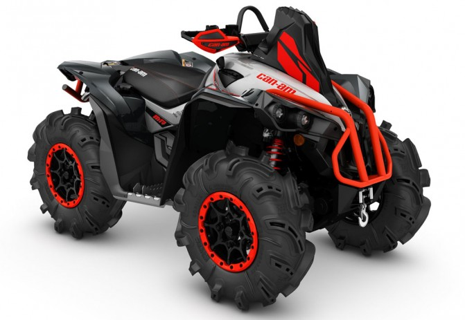 2016 Can-Am Renegade Xmr 1000R Red