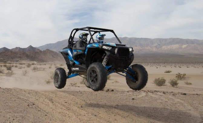 2016 Polaris RZR Turbo EPS Jump
