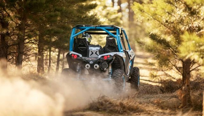 Can-Am Maverick X ds Turbo Rear
