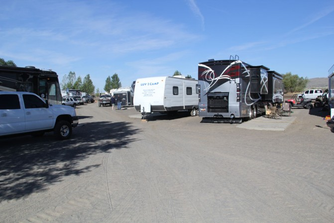 Campground at St. Anthony Dunes