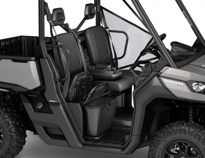2016 Can-Am Defender HD8 Seat Storage