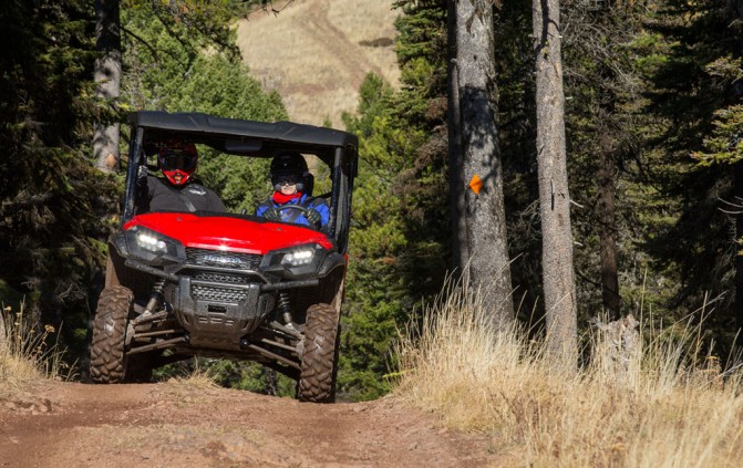 2016 Honda Pioneer 1000 Action Trees
