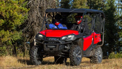 2016 Honda Pioneer 1000-5 Deluxe Review