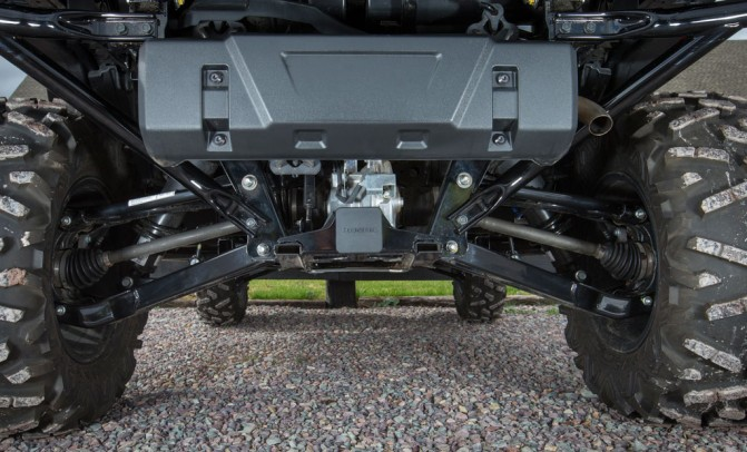 2016 Honda Pioneer 1000 Rear Suspension