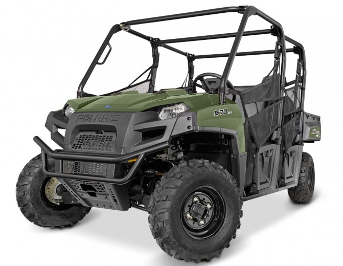 2016 Polaris Ranger Crew 570-6 Unveiled
