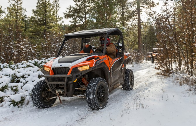 2016 Polaris General 1000 EPS Deluxe Action 1