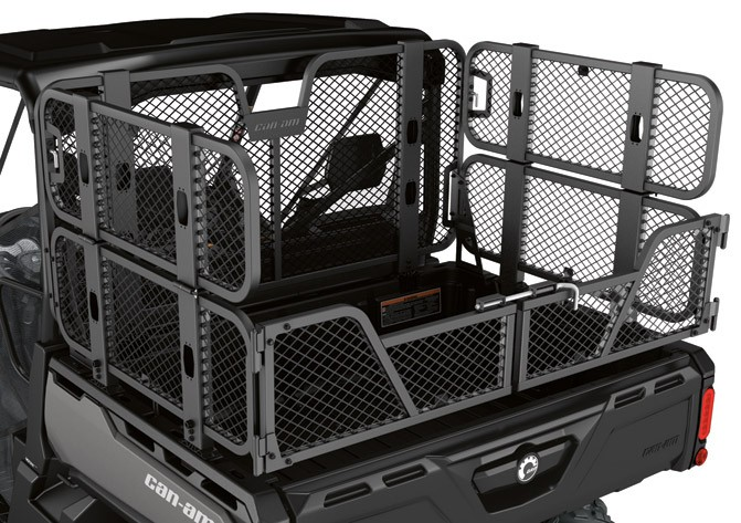 Can-Am Defender Bed Wall Extender