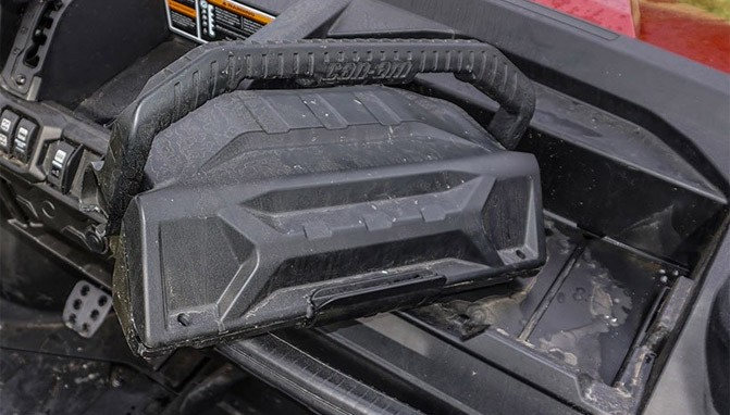 Can-Am Defender Removable Glovebox