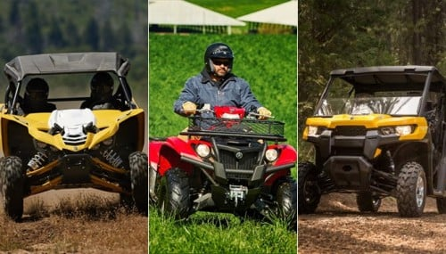 Top 10 ATVs and UTVs of 2015