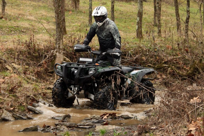 Yamaha Grizzly Project Action Water