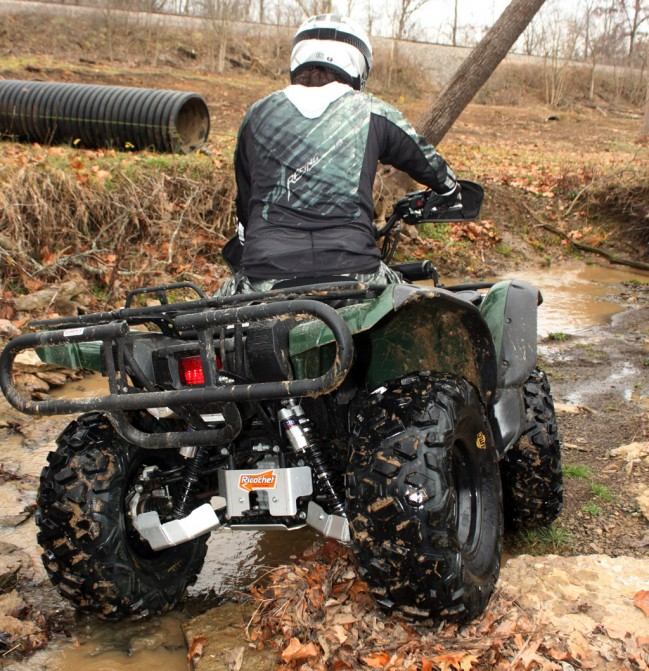 Yamaha Grizzly Project Action Rear