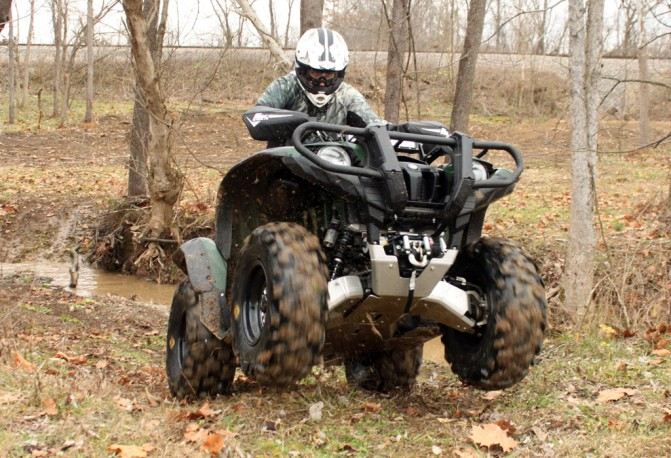 Yamaha Grizzly Project Wheelie