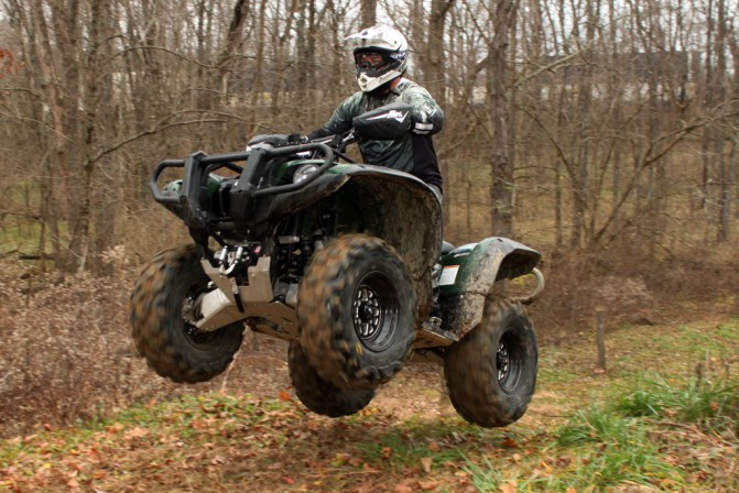Yamaha Grizzly Project Action Big Air