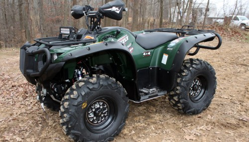 Yamaha Grizzly Sport-Touring Project