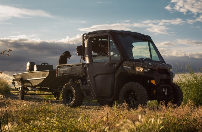 2016 Can-Am Defender XT Cab Duck Hunting