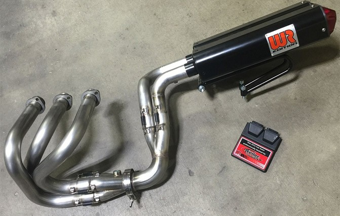 Weller Racing Dual Exhaust