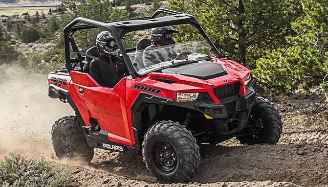 2016 Polaris General In Indy Red Now Available Atv Com