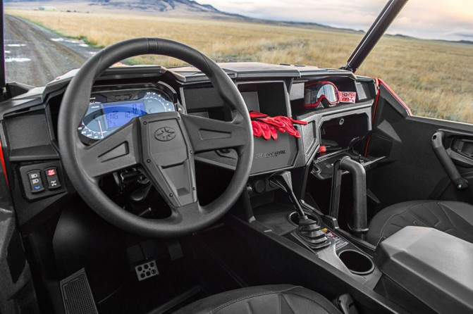 2016 Polaris General Indy Red Interior