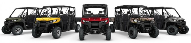 2017 Can-Am Defender MAX Family