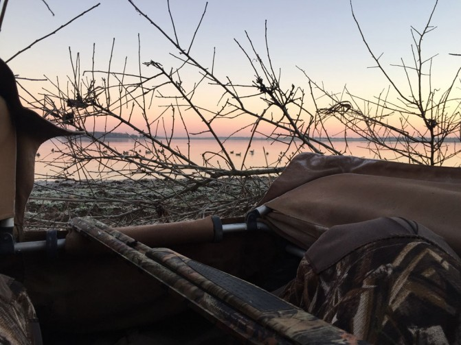 View from Duck Hunting Blind