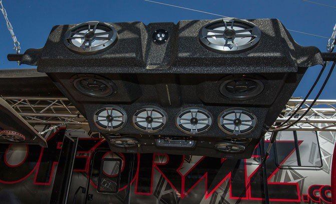 High Lifter Mud Nationals Sound System