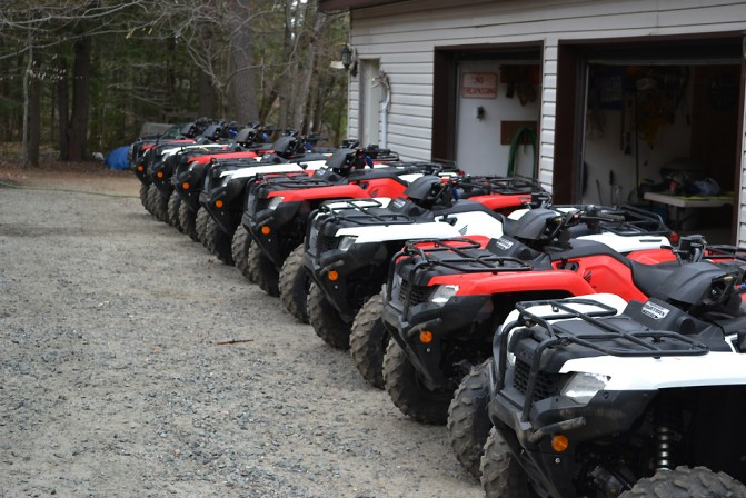 Bear Claw Tours ATVs
