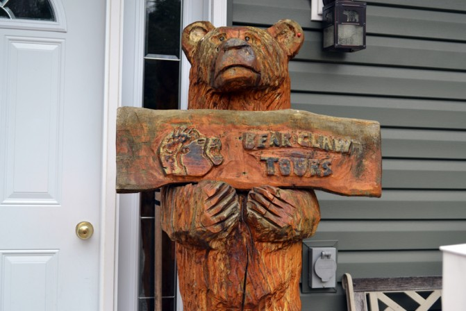 Bear Claw Tours Carving