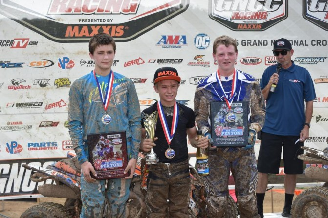 Youth Podium John Penton GNCC