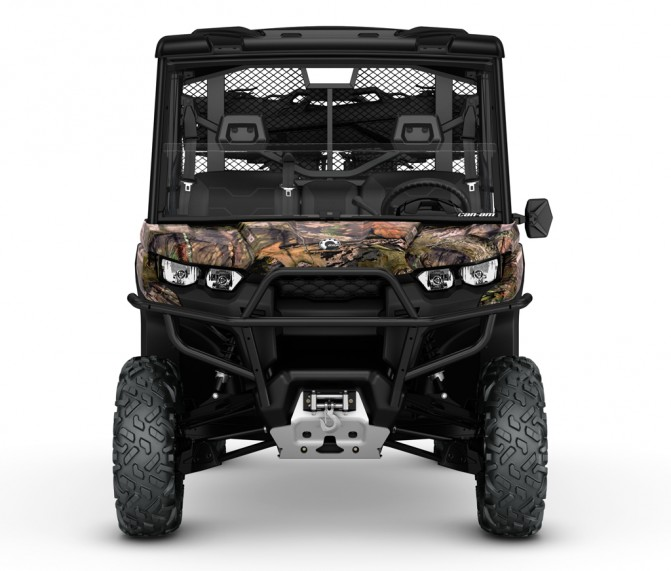 2017 Can-Am Defender Mossy Oak Front