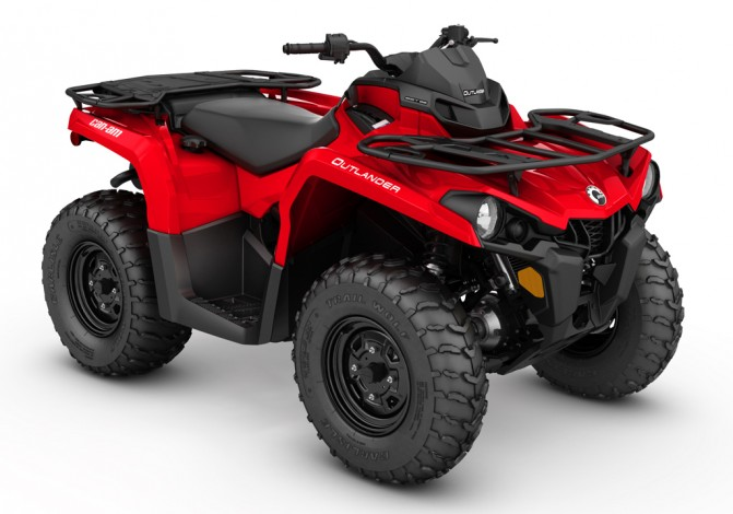 2017 Can-Am Outlander 450 Red