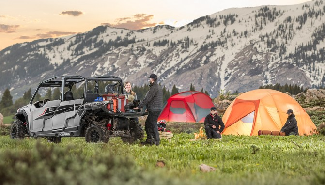 2017 Polaris General 4 1000 EPS Camping