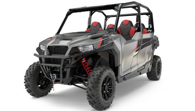 2017 Polaris General 4 1000 EPS Silver